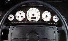 Mercedes Colored Gauges