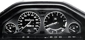 BMW Electronic Instrument Cluster